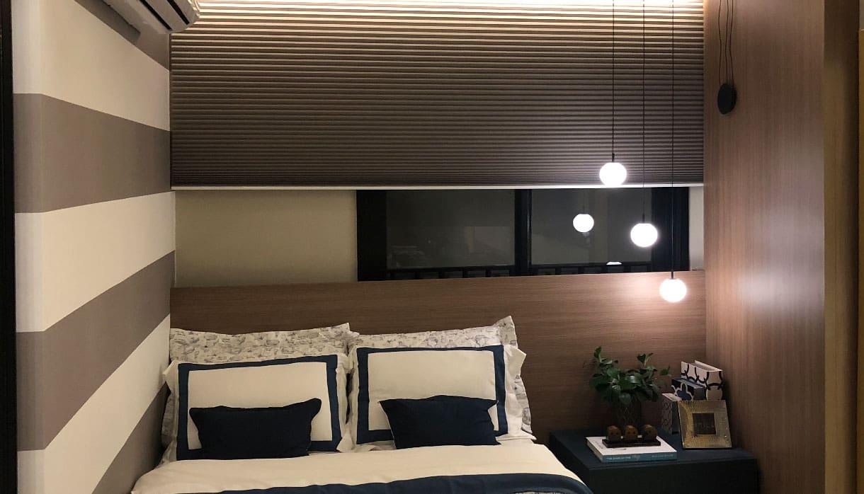 Cortina Celular para quarto